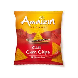 Amaizin Organic Corn Chips Chilli 75g