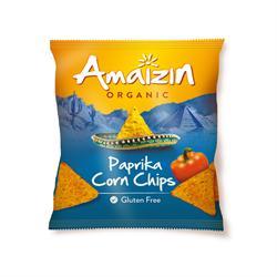 Amaizin Organic Corn Chips Paprika 75g