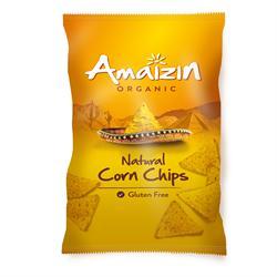 Amaizin Organic Natural Corn Chips 250g