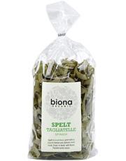 Biona Spelt Spinach Artisan Tagliatelle - Rolled Organic