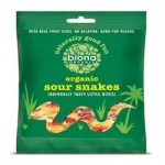 Biona Organic Sour Snakes 75g