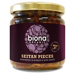 Biona Organic Seitan Pieces Marinated In Ginger And Soya Sauce 350g