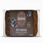 Biona Organic Rye Bread With Chia & Flax Seed