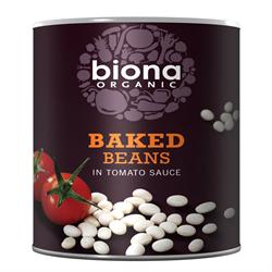 Biona Organic Baked Beans In Tomato Sauce 420g