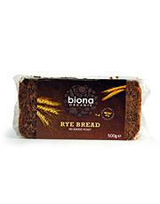 Biona Organic Rye Bread 500g