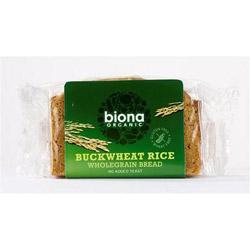 Biona Organic Rice Buckwheat Bread 250g