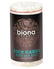 Biona Rice Cakes With Salt Organic 100g