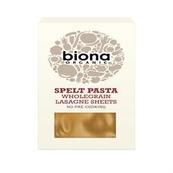 Biona Organic Spelt Lasagne 250g