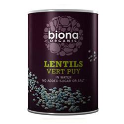 Biona Lentils Vert 400g
