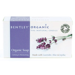 Bentley Organic Calming & Moisturising Soap 150g