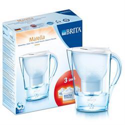 Brita Water Filter Cool White Starter Pack 2400ml