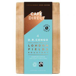 Cafedirect D.R.Congo Organic Coffee Beans 200g