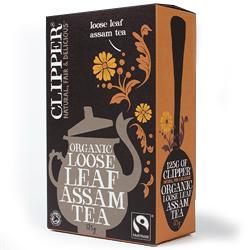 Clipper Fairtrade Organic Assam Loose Tea 125g