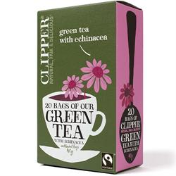Clipper Green Tea With Echinacea 20 Bags