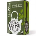 Clipper Fairtrade Organic Loose Leaf Green Tea 100g