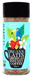Clipper Fairtrade Organic Latin American Instant Coffee 100g
