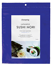 Clearspring Nori Sea Vegetable Sushi Toasted 17g
