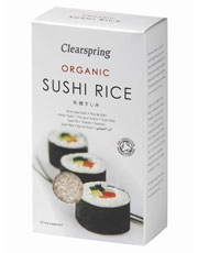 Clearspring Sushi Rice 500g