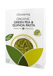 Clearspring Organic Gluten Free Green Pea & Quinoa Pasta 250g