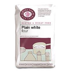 Doves Farm Gluten Free Plain White Flour 1000g