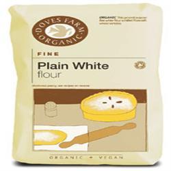 Doves Farm Organic Plain White Flour 1000g