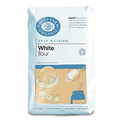 Doves Farm Organic Self Raising White Flour 1000g