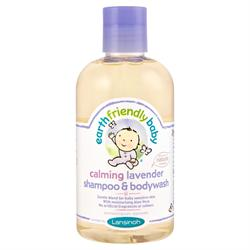 Earth Friendly Baby Calming Lavender Shampoo & Bodywash Ecocert