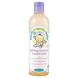 Earth Friendly Baby Calming Lavender Bubble Bath 300ml
