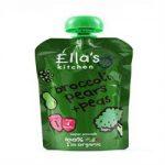 Ellas Kitchen S1 Broccoli Pears & Peas 120g