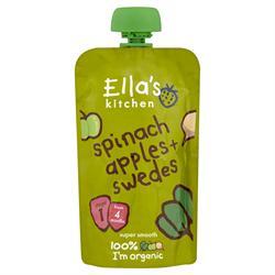 Ellas Kitchen S1 Spinach Apples & Swede 120g