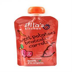 Ellas Kitchen S1 Sweet Potato Broccoli & Carrots 120g