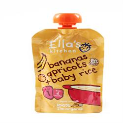 Ellas Kitchen Baby Rice Banana & Apricot