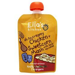 Ellas Kitchen S2 Chicken n Sweetcorn Mash 130g