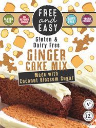 Free & Easy Ginger cake mix 350g