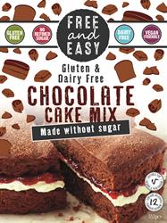 Free & Easy Chocolate Cake Mix 350g