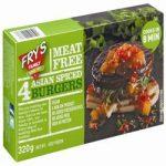 Frys Asian Spiced Burgers 320g