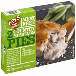 Frys Country Mushroom Pie 2 x 175g