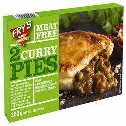Frys Curry Pie 2 x 175g