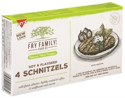 Frys Soy and Flaxseed Schnitzels 320g