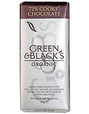 Green & Blacks Organic DARK Cooking Chocolate 150g