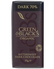 Green & Blacks Dark Chocolate 35g