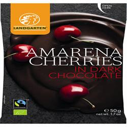 Landgarten Amarena Cherries in Dark Choco 50g
