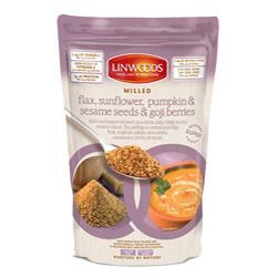 Linwoods Organic Milled Flax S/Flower & Goj 425g