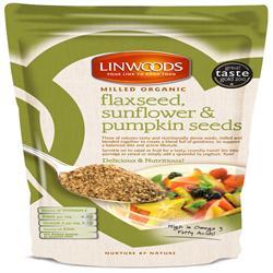 Linwoods Organic Flax Sunflower & Pumpkin 200g