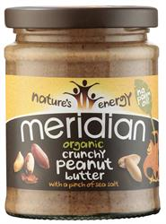 Meridian Organic Crunchy Peanut Butter With Salt 280g