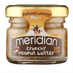 Meridian Crunchy Peanut Butter 26g
