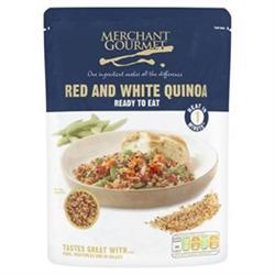 Merchant Gourmet Red & White Quinoa RTE 250g