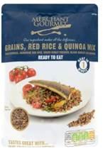 Merchant Gourmet Grains Red Rice & Quinoa Mix 250g