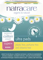 Natracare Natural Ultra Pads Super Plus (x12)