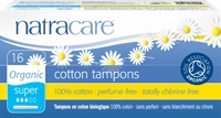 Natracare Organic Applicator Tampons Super 16 pieces